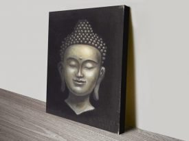 Serene Buddha ll Calming Canvas Wall Art