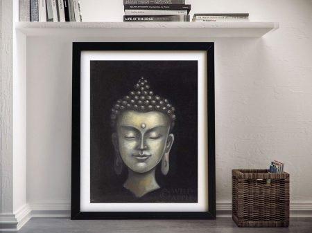 Buy Serene Buddha l Spiritual Canvas Art