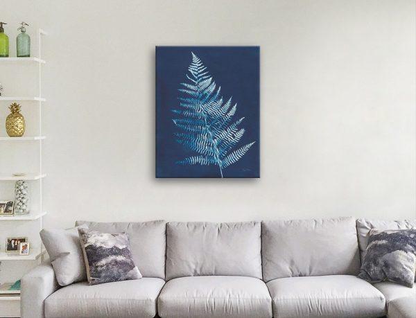 Indigo Prints on Canvas Great Gift Ideas Online