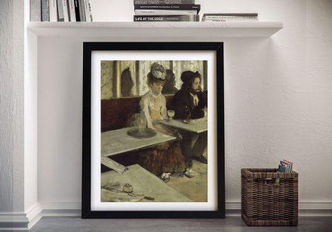 The Absinthe Drinker Framed Classic Art AU