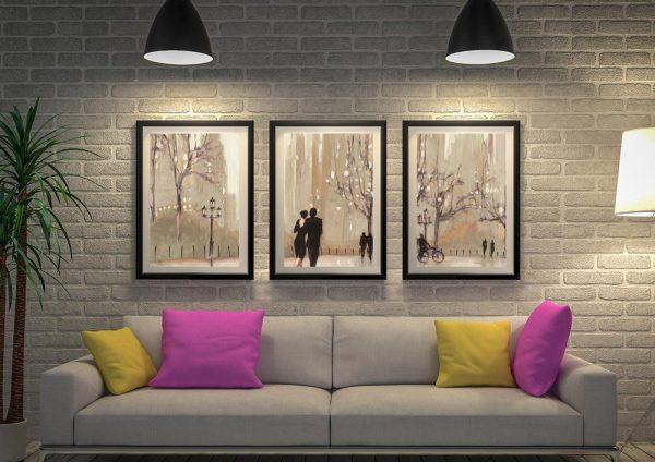 An Evening Out Julia Purinton Framed Wall Art