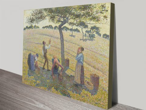 Apple Harvest Classic Camille Pissarro Wall Art