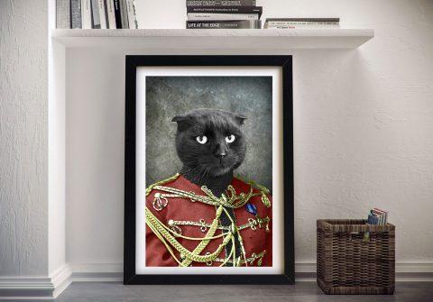 Personalised-pet-portrait-framed-art
