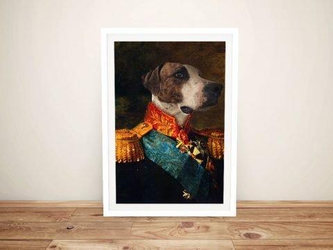 Dog Portrait Framed Art