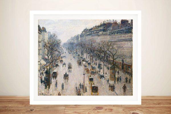 Boulevard Montmartre Framed Classic Wall Art