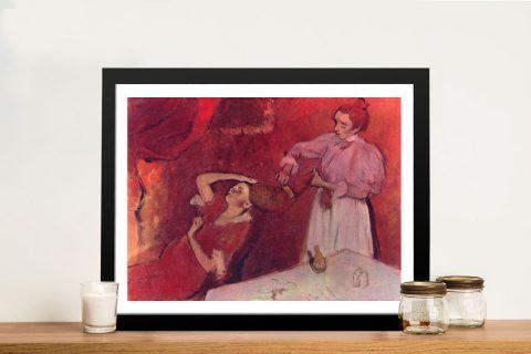 Framed Classic Degas Canvas Prints Online