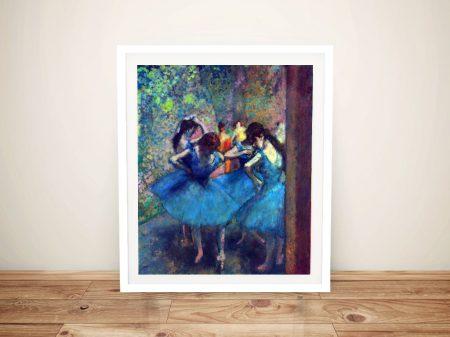 Buy a Degas Dancers Print on Canvas