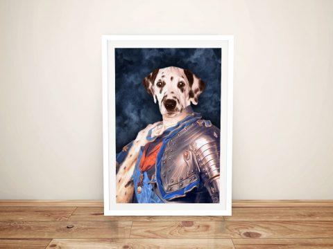 Dauphin of France Doggovinci Pet Prints