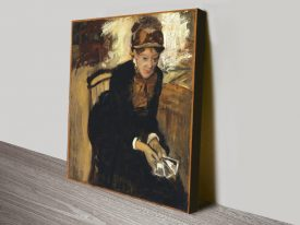 Mary Cassatt Classic Degas Portrait Print