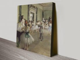 The Ballet Class Classic Degas Wall Art