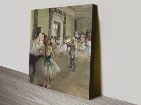 The Ballet Class Classic Degas Wall Art