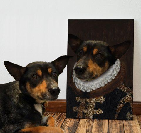 The Prince Regal Custom Pet Portraits for Sale