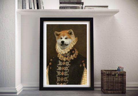 Dame Affordable Custom Pet Portraits AU