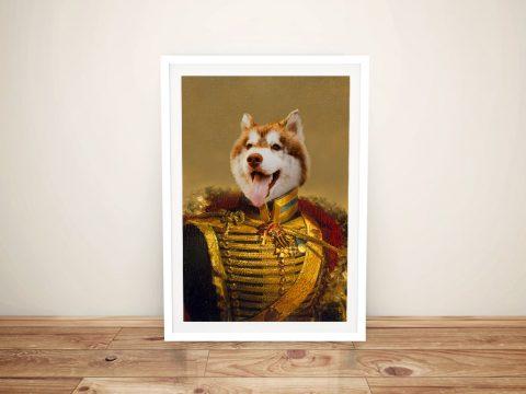 Dog Portrait Custom Wall Art Cheap Online