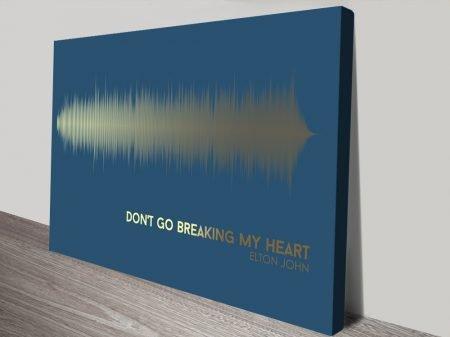 Elton John Soundwave Art