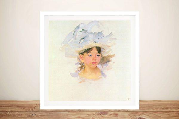 Ellen Mary Cassat Classic Print on Canvas