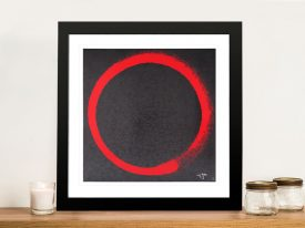 Enso: Earthly Desires Framed Print on Canvas