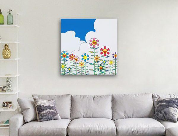 Ready to Hang Murakami Canvas Art Online