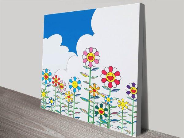 Flower 2 Japanese Wall Art Great Gift Ideas AU