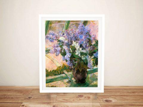 Mary Cassatt Pretty Floral Wall Art Online