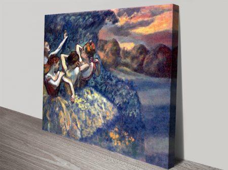 Four Dancers Degas Ballet Dancers Artwork