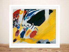 Kandinsky Impression III Print on Canvas