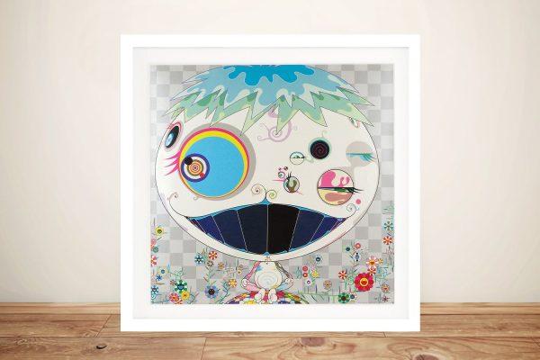 Jellyfish Japanese Street Art Print on Canvas