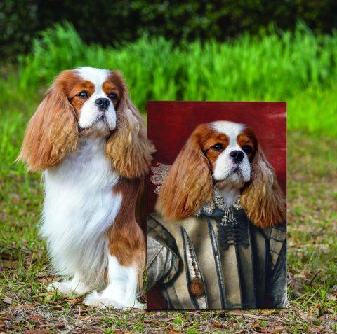 The Emperor Personalised Pet Portrait