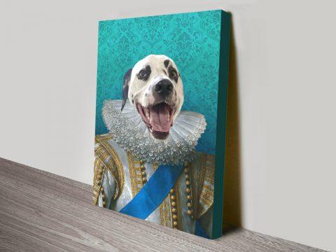 Surprise Your Friends with a Custom Pet Portrait