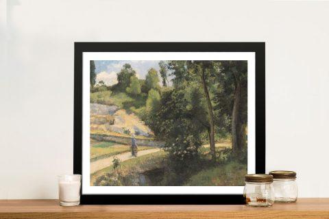 Buy La Carrière Pontoise Camille Pissarro Art