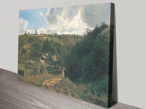 Buy a La Côte du Jallais Classic Pissarro Print