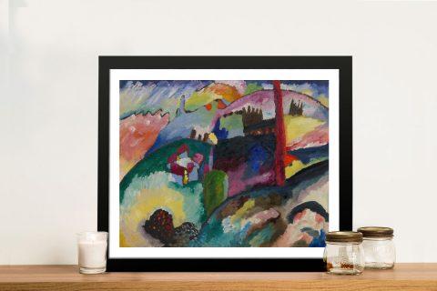 Framed Kandinsky Modern Wall Art Online