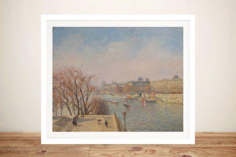 Le Louvre Camille Pissarro Classic Art Online