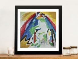 Canvas Print of Lenbachhaus by Kandinsky