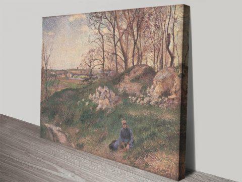 Les Carrières du Chou Landscape Wall Art AU