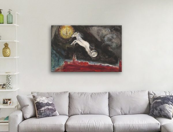 Marc Chagall A Fantasy of-St Petersburg canvas artwork