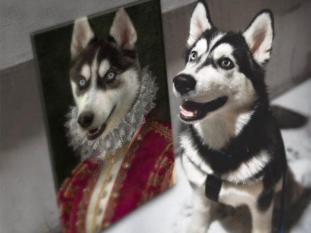 The Marchioness Unique Personalised Pet Portraits