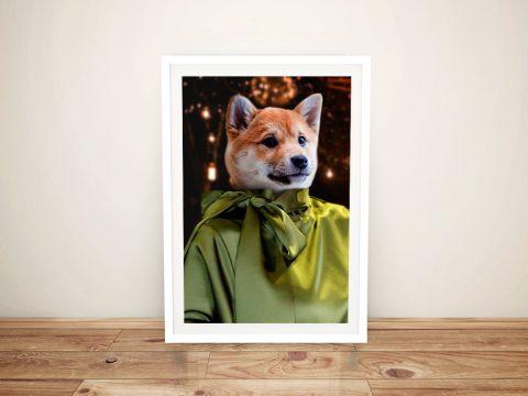 Fashionista Personalised Pet Portraits Online