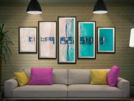 Buy Old Jurien Bay Jetty Split Diamond Artwork