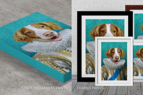 Pet Portrait Quality Print