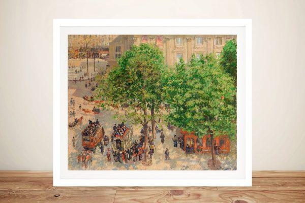 Affordable Pissarro Paris Scenes Classic Art AU