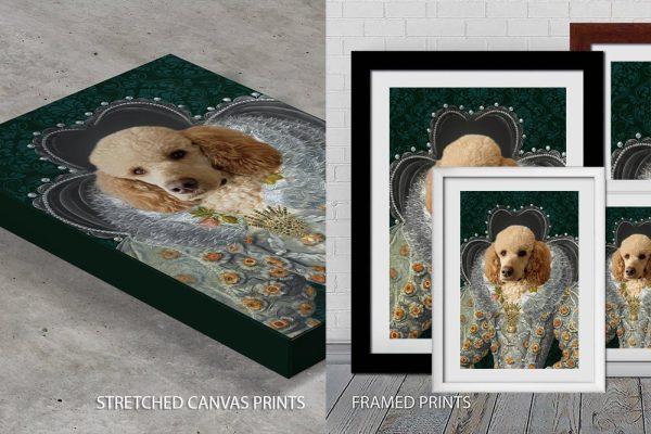 Queen Elizabeth Pet Portrait Quality Art