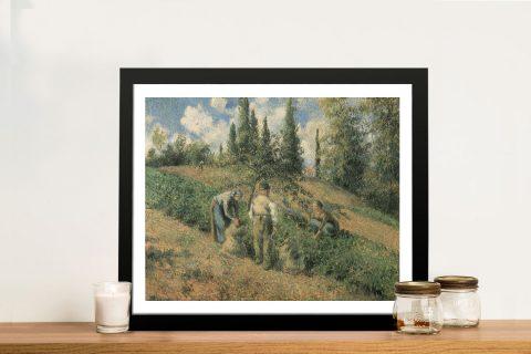 Buy Récolte des Pommes Classic Art on Canvas