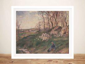 Les Carrières du Chou Camille Pissarro Print