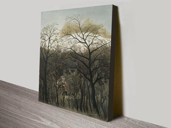 Get Rousseau Landscape Canvas Prints Online