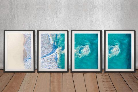 Affordable Matt Day Aerial Surf Prints Online