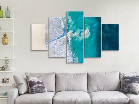 Riptide by Matt Day Canvas Set of Surf Prints