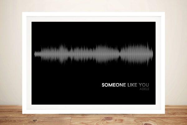 Someone Like You Adele Framed Wall Art
