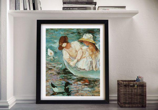Summertime Framed Canvas Classic Art