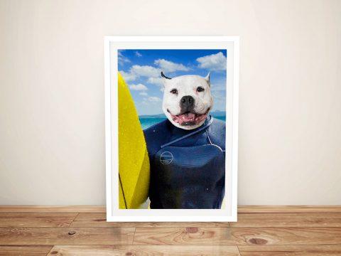 The Surfer Affordable Custom Pet Art Online